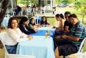 A confraternização foi animada, momento de rever amigos e de divertimento com a boa música ao vivo e delicioso almoço típico  <br/>